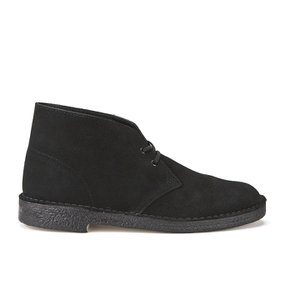Clarks Originals Men's Desert Boots - Black Suede