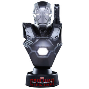 Hot Toys Marvel Captain America Civil War Warmachine Mark III 4 Inch Bust