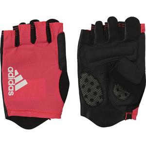 adidas Adistar Cycling Gloves - Shock Red/Black/White