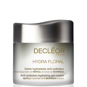DECLÉOR Hydra Floral Moisturising Gel Anti-Pollution -geelivoide, 50ml