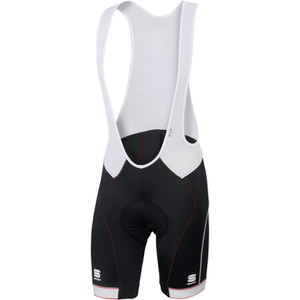 Sportful Giro Bib Shorts - Black/White/Red