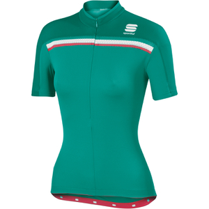Sportful Allure Women's Short Sleeve Jersey - Green