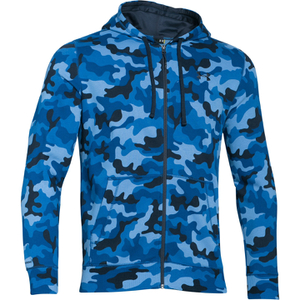 Under Armour Men's Storm Rival Fleece Printed Hoody - Blue