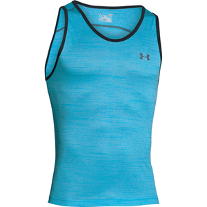 Under Armour Men's Tech Tank Top - Meridian Blue/Graphite