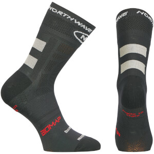 Northwave Evolution Air 12cm Cuff Socks - Black