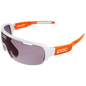 POC DO Half Blade AVIP Sunglasses - Hydrogen White/Zinc Orange