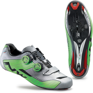 Northwave Men's Extreme Reflective Cycling Shoes - Green