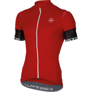 Castelli Entrata 2 Short Sleeve Jersey - Red