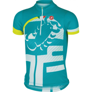 Castelli Children's Veleno Short Sleeve Jersey - Blue