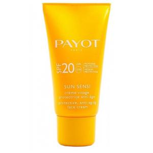 PAYOT Sun Sensi Crème Visage Protective Anti-Ageing Face Cream SPF 20 -aurinkovoide kasvoille, 50ml