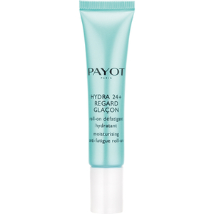 PAYOT Hydra 24 + Regard Moisturising and Anti-Fatigue Eye Roll-On -silmänympärysgeeli, 15ml