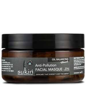 Sukin olio Balancing + Charcoal Anti-Pollution Facial maschera 100ml