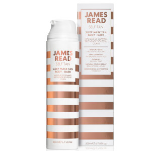 James Read Sleep Mask Tan Go Darker Body -itseruskettava vartalonaamio (200ml)
