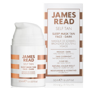 James Read Sleep Mask Tan Go Darker Face -itseruskettava kasvonaamio (50ml)