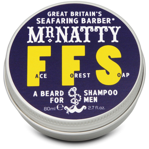 Shampooing Savon pour Barbe Face Forest Mr Natty 80 ml