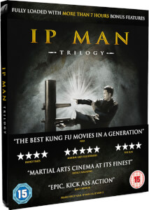 IP Man Trilogy - Limited Editon Steelbook