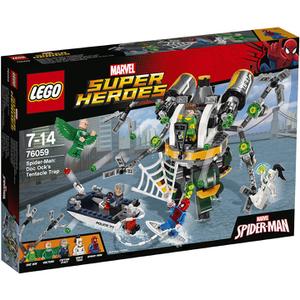 LEGO Superheroes: Spider-Man: Doc Ocks Tentakelfalle (76059)