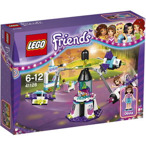 LEGO Friends: Le manège volant du parc d'attractions (41128)