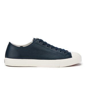 PS by Paul Smith Men's Indie Leather Cupsole Trainers - Galaxy Mono Lux