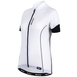 Santini Ora Women's Short Sleeve Jersey - White