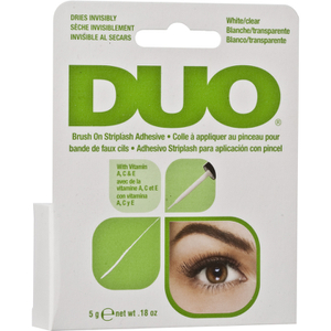 Duo Brush on Striplash Adhesive with Vitamins Clear 5g