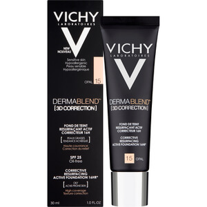 VICHY Dermablend [3D Correction] Fluid Foundation 30ml (Various Shades)