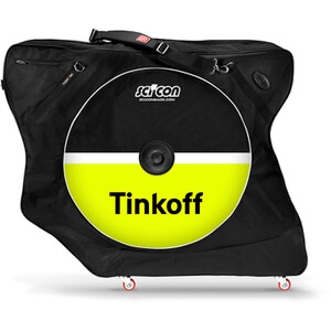 Scicon Aerocomfort 2.0 TSA Bike Bag - Black - Team Tinkoff Edition