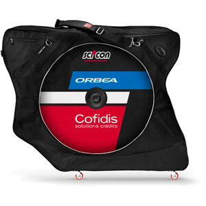 Scicon Aerocomfort 2.0 TSA Bike Bag - Black - Team Cofidis Edition