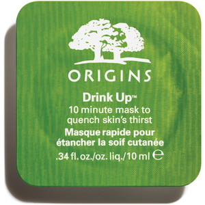 Masque dosette pour le visage 10 Minutes Drink up d'Origins 10 ml
