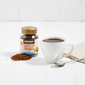 Beanies Decaf Chocolate Orange Flavour Instant Coffee