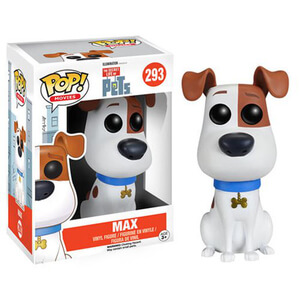 The Secret Life of Pets Max Funko Pop! Figuur