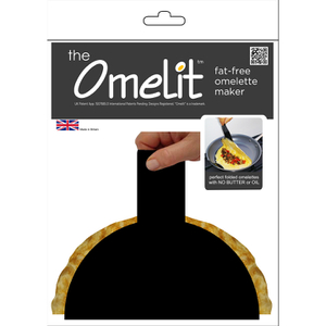 The Omelit Reusable Fat Free Omelette Maker - Black