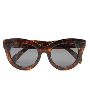 Cheap Monday Women's Love Sunglasses - Soft Brown Turtle