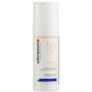 Ultrasun SPF50+ Tinted Face Sun Cream (Various Shades): Image 3