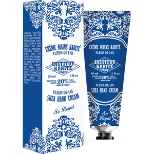 Institut Karité Paris Shea Hand Cream So Royal - Fleur-de-Lis 30ml