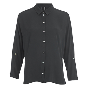 ONLY Women's Nova Bat Sleeve Shirt - Black