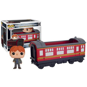 Harry Potter Hogwarts-Express Vehicle mit Ron Weasley Funko Pop! Figur