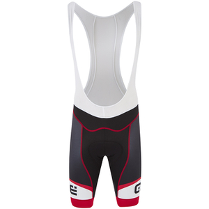 Alé Formula 1.0 Logo Bib Shorts - Black/Red