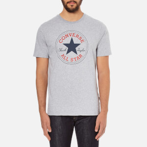 Converse Men's All Star Core Chuck Patch T-Shirt - Vintage Grey Heather