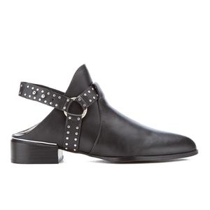 Senso Women's Danx I Leather Heeled Ankle Boots - Ebony