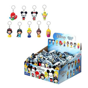 Disney 3-D Figural Foam Series 1 Key Chain