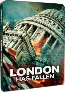 London has Fallen Steelbook Blu-ray