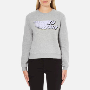 Carven Women's Kid Shark Sweatshirt - Grey
