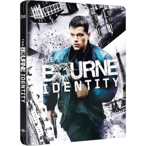 The Bourne Identity - Zavvi Exclusive Limited Edition Steelbook (Limited to 1500 Copies)