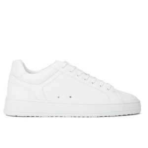 ETQ. Men's Low Top 4 Leather Trainers - White