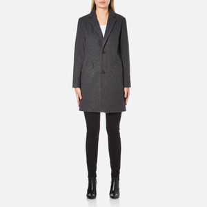 A.P.C. Women's Single Breasted Coat - Grey