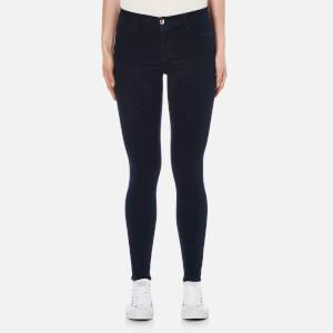 J Brand Women's Maria High Rise Skinny Jeans - Bluebird