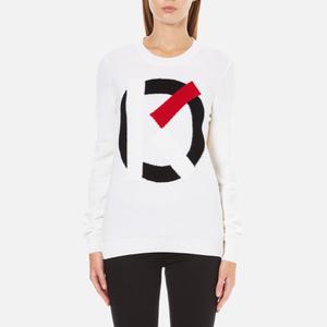 KENZO Women's K Logo Jumper - White