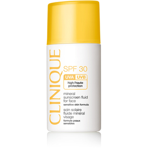 Mineral Sunscreen Fluid for Face SPF30 de Clinique 30ml