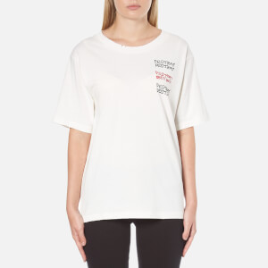 OBEY Clothing Women's Destroy T-Shirt - Dusty Off White